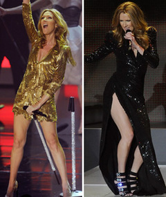 FIT BOD: Celine Dion Returns to Stage 4 Months After Having Twins!