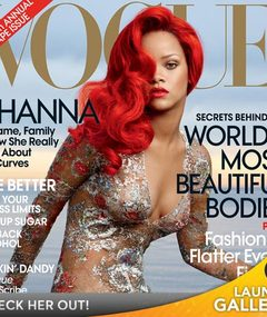 FAB FOTOS: Rihanna's Stunning Cover Spread for Vogue!
