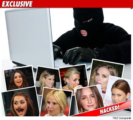 Celebrity Hacked Phones