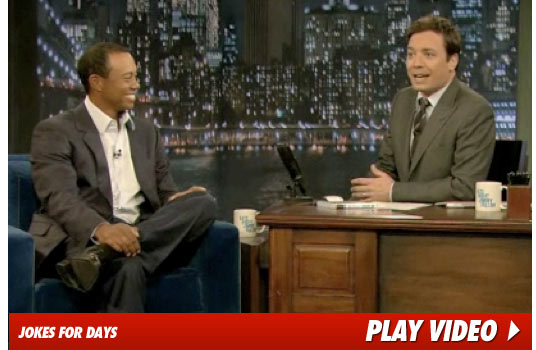 Tiger Woods Jimmy Fallon Show