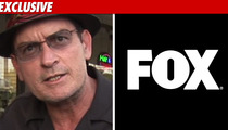 Charlie Sheen Goes on FOX Hunt