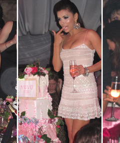 FAB FOTOS: Inside Eva Longoria's Vegas Birthday Bash!