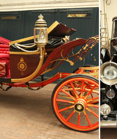 FAB FOTOS: William and Kate's Royal Wedding Chariot!