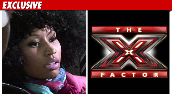 Nicki Minaj No X Factor