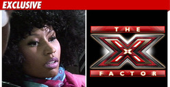 Nicki Minaj -- No Deal for 'X Factor'