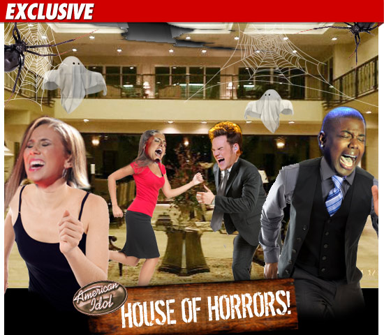 American Idol Mansion Haunted