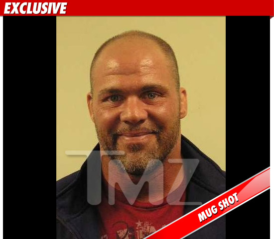 Kurt Angle Arrested