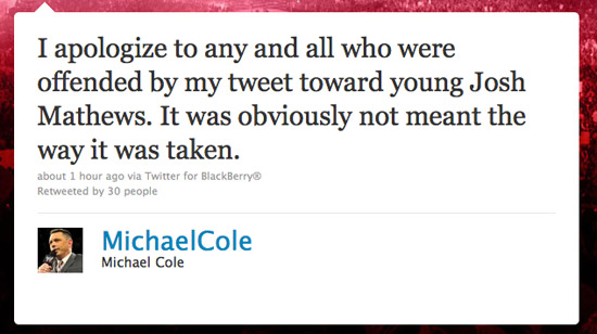 0326_Michael_Cole_Apology_REG