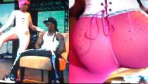 Nicki Minaj -- Big Booty Lap Dance for Lil Wayne