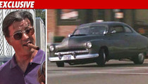 Sly Stallone -- I'm Getting My 'Cobra' Car Back!