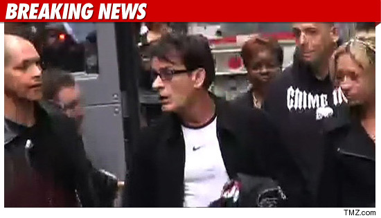 Charlie Sheen in Chi