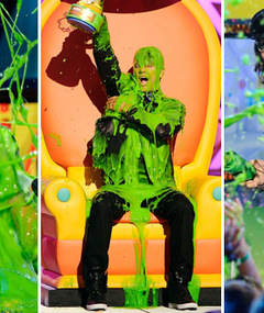 Kids&#039; Choice Awards -- Who Showed &amp; Who Got Slimed?