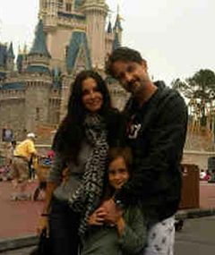 Courteney Cox's and David Arquette's Disney Play Date