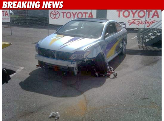 Tito Ortiz crash car TMZ fueled by fame