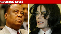 Dr. Murray: Don't Show MJ Autopsy Pics in Court