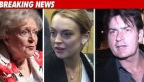 Betty White BLASTS Lohan, Sheen