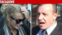 Lindsay Lohan -- Hiding from Her Father