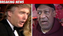 Trump Rips Bill Cosby -- He's a Two-Faced Phony!