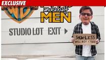 Charlie Sheen -- Persona Non Grata at 'Men'