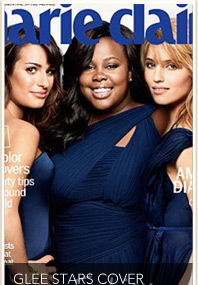 Pics: &#039;Glee&#039; Girls Cover Marie Claire -- Plus New Episode Sneak Peek!