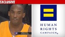Gay Rights Group SLAMS Kobe -- 'What A Disgrace'