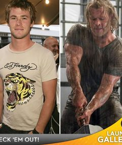 Hemsworth Bulks Up for &#039;Thor&#039; -- See More Movie Transformations!