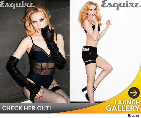 evan rachel wood esquire. quot;True Bloodquot; and quot;Mildred Piercequot; star Evan Rachel Wood is an open book -- and in the new issue of Esquire, she casually comes out as a bisexual.