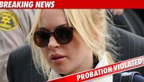 Judge Rules Lindsay Lohan Violated Probation