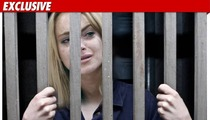 Lindsay Lohan -- On Her Way to Jail