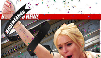Lindsay Lohan -- Charge Reduced to Misdemeanor!