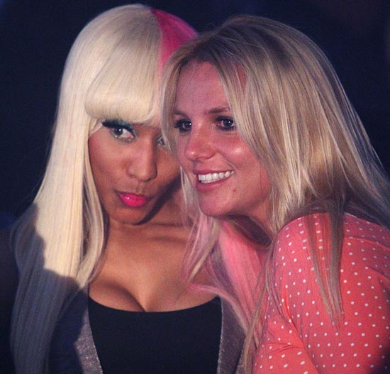 0423_nicki_minaj_britney_spears_getty