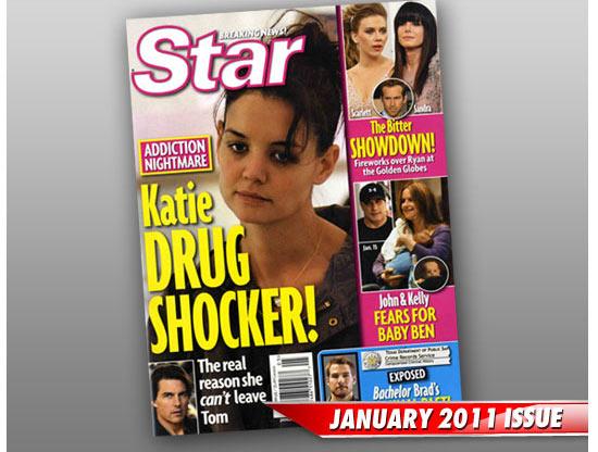 Katie Holmes Drugs