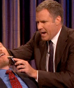 Video: Will Ferrell Shaves Off Conan O&#039;Brien&#039;s Beard!