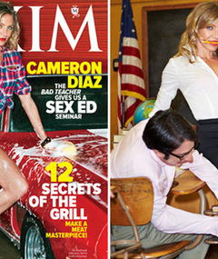 Cameron Diaz Covers Maxim, Talks Celeb Girl Crushes!