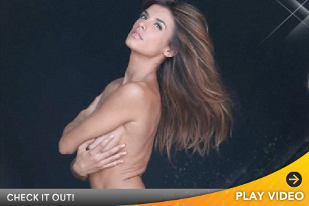0505 elisabetta video Elisabetta Canalis, George Clooney's Girlfriend, Strips Nude For PETA (Video ...