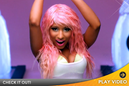 nicki minaj super bass makeup. Nicki Minaj#39;s #39;Super Bass#39;