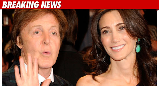 Paul McCartney Engaged