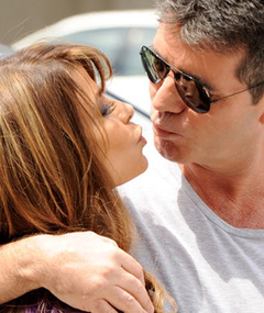 Simon & Paula: Together Again for 'X Factor' Auditions