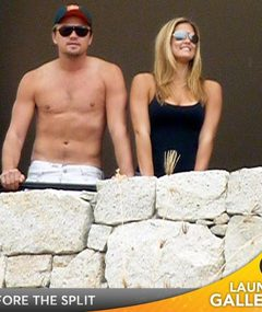 Leonardo DiCaprio &amp; Bar Refaeli Split!