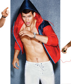 Kim Kardashian's Fiance Goes Shirtless in GQ!