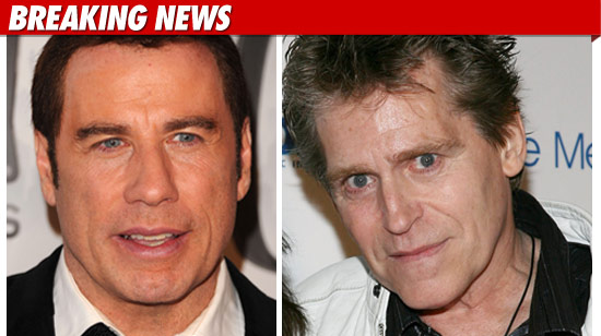 Jeff Conaway and John Travolta