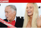 Hugh Hefner &amp; Crystal Harris -- The Wedding is OFF!!!