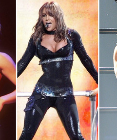 Britney Spears&#039; Tour Stars Tonight -- See Her Past Looks!