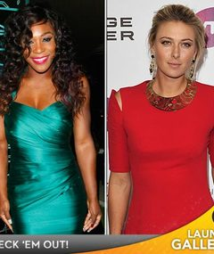 Serena! Maria! Caroline! Tennis Pros Serve Up Sexy Glamour