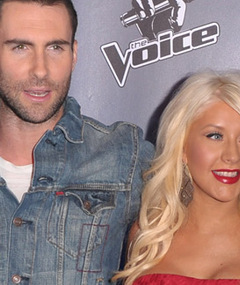 &#039;The Voice&#039; Coaches&#039; New Song -- Hear Adam &amp; Christina&#039;s Duet!