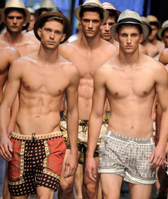 Male Model Madness -- Milan&#039;s Hottest Runway Stars!