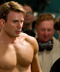 Chris Evans Buffs Up, Takes On Bad Guys in 'Captain America'