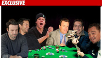 Celebrity Poker Circle -- Pay Up or GET OUT!