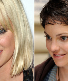 Anna Faris Debuts Short, Brunette &#039;Do!