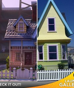 &#039;Up&#039; House for Sale in Real Life -- Balloons Sold Separately!